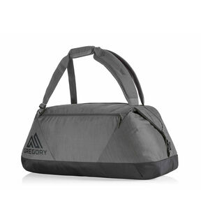 Stash 65 Duffel in the color Shadow Black.
