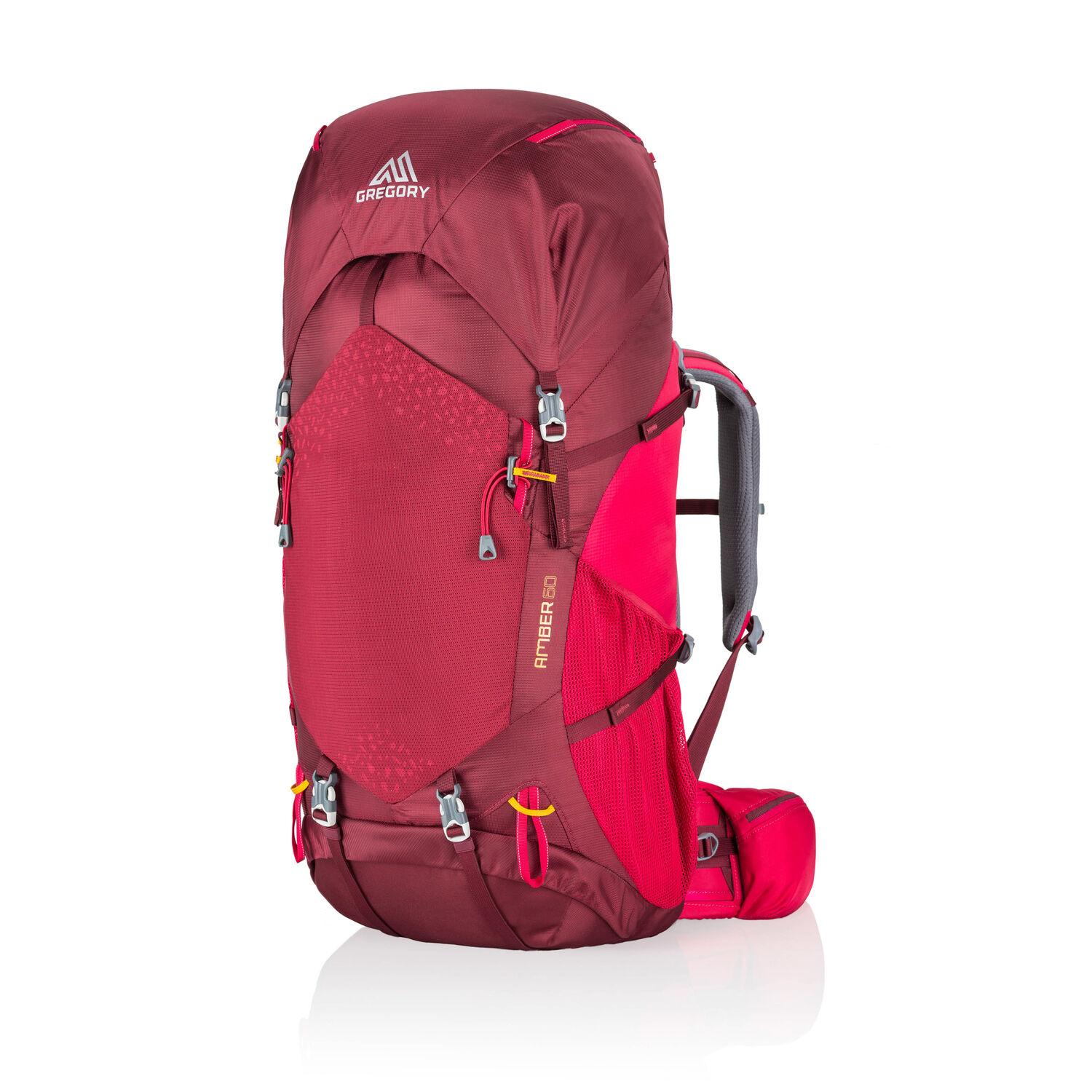 Amber 60 in the color Chili Pepper Red.