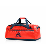 Alpaca 45 Duffel in the color Flame Red.