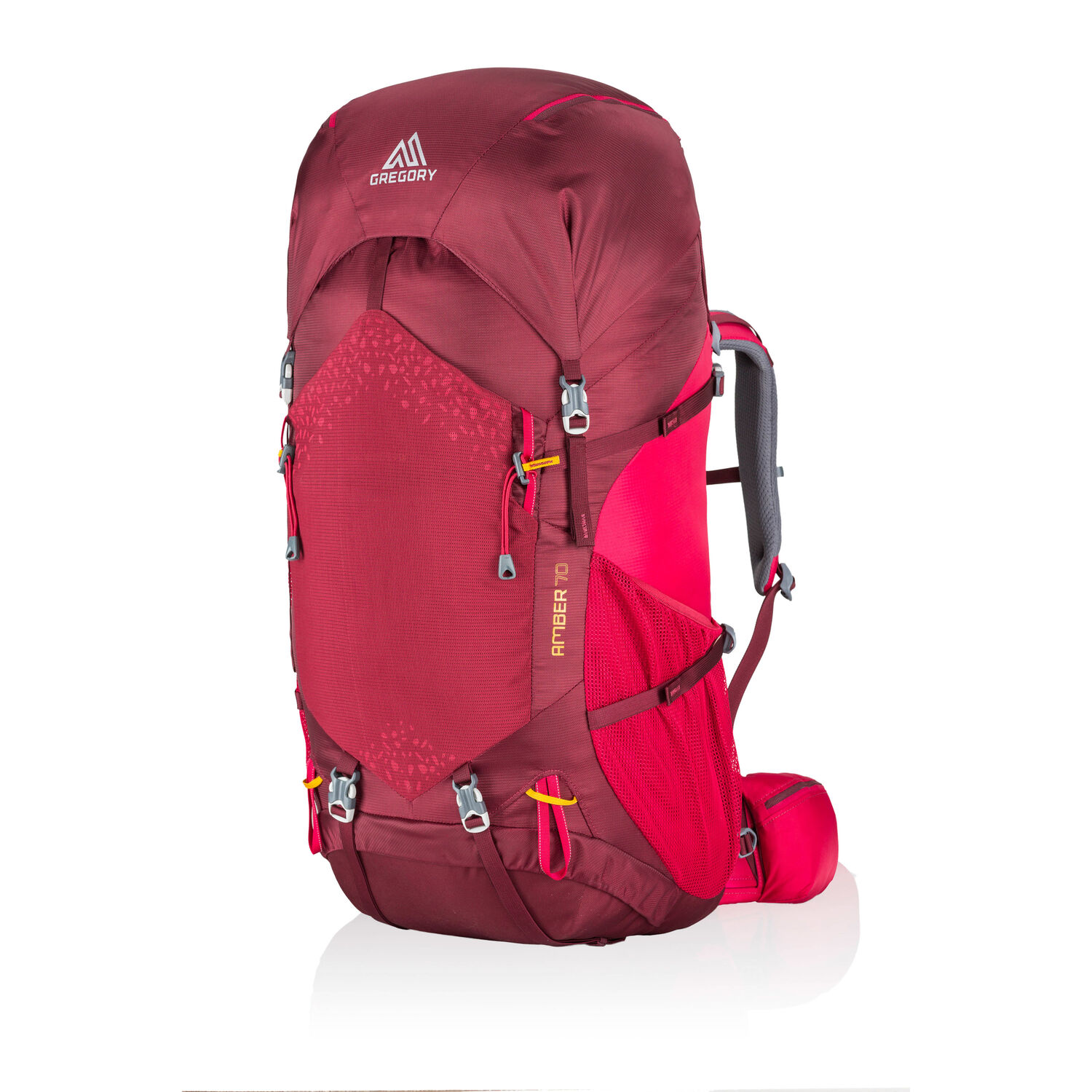 Amber 70 in the color Chili Pepper Red.