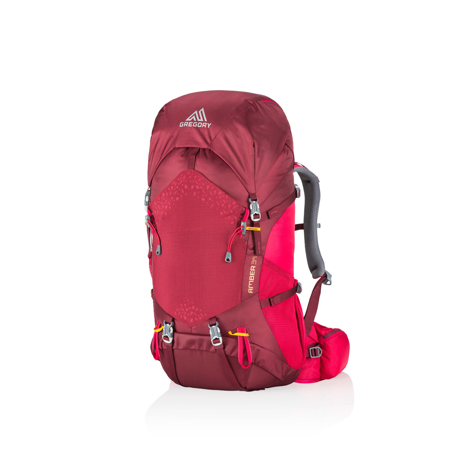 Amber 34 in the color Chili Pepper Red.