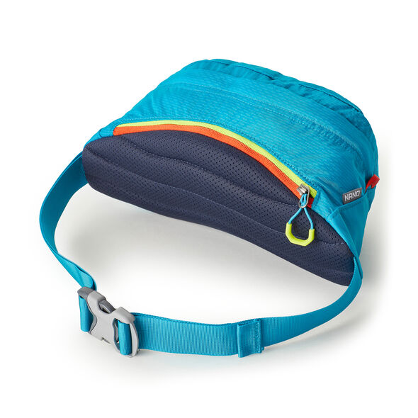 Nano Waistpack in the color Calypso Teal.