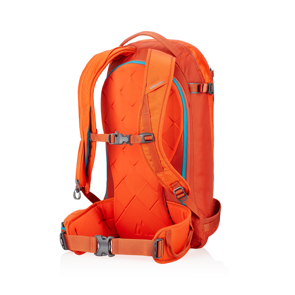 Targhee 26 in the color Sunset Orange.
