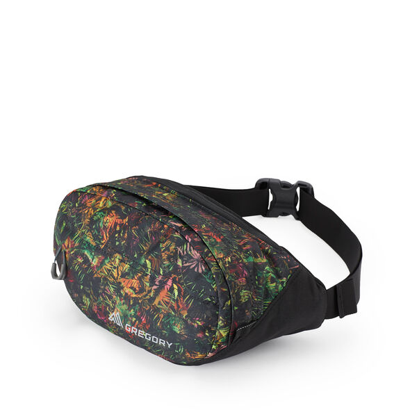 Nano Waistpack in the color Tropical Forest.