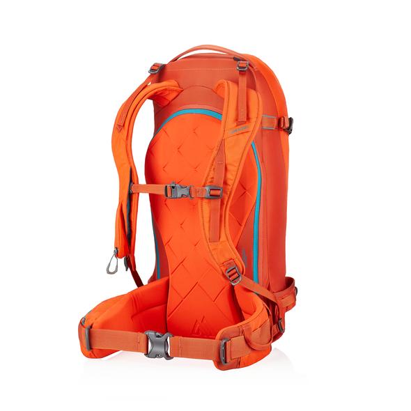 Targhee 32 in the color Sunset Orange.
