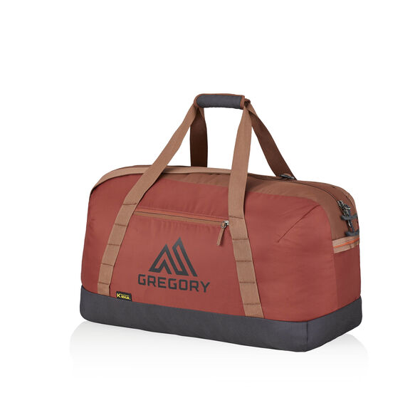 Supply Duffel 40 in the color Brick Red.