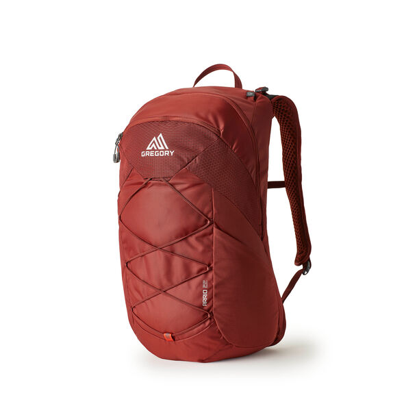 Arrio 22 in the color Brick Red.