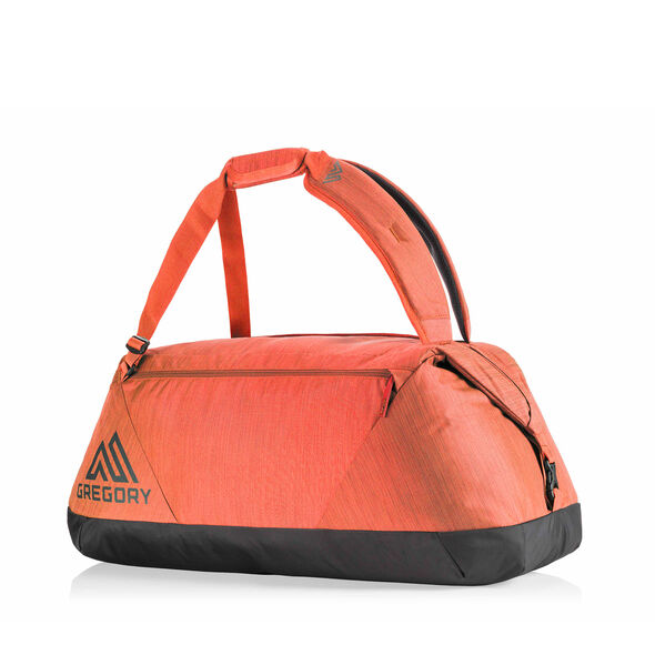 Stash 65 Duffel in the color Autumn Rust.