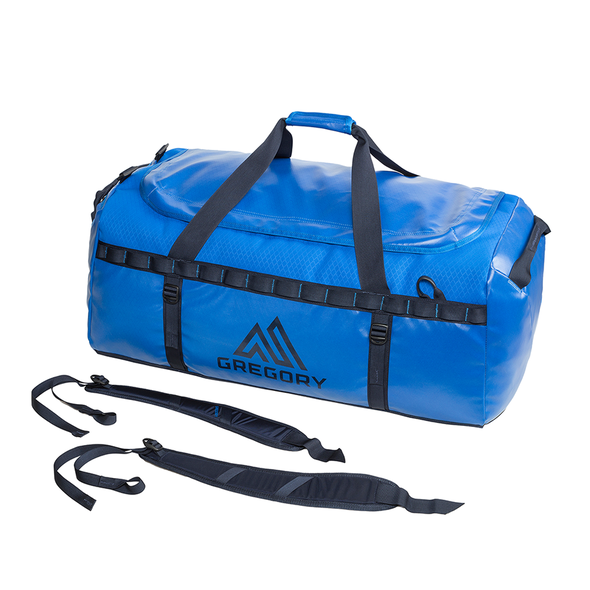 Alpaca 60 Duffel in the color Marine Blue.