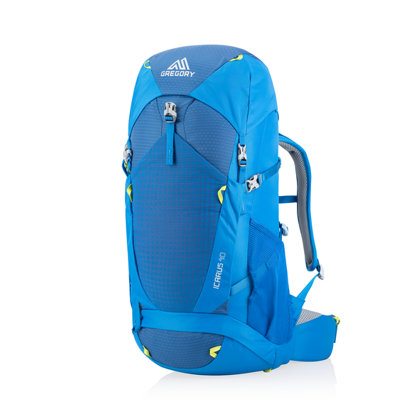 Icarus 40 in the color Hyper Blue.