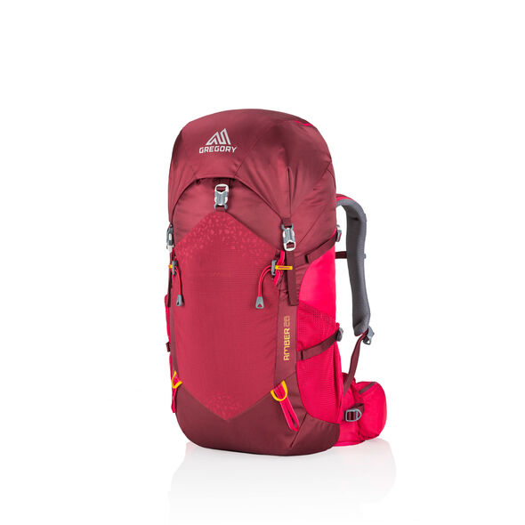 Amber 28 in the color Chili Pepper Red.