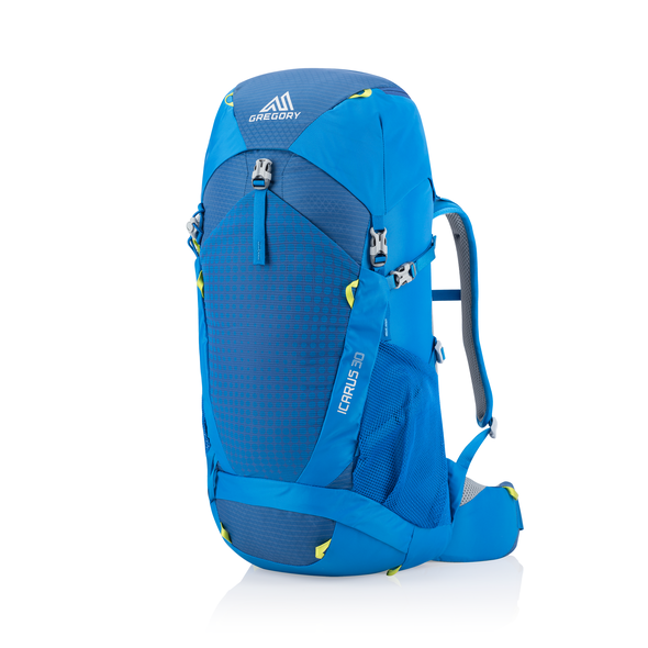 Icarus 30 in the color Hyper Blue.