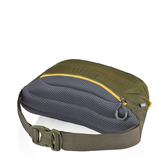 Nano Waistpack in the color Fennel Green.