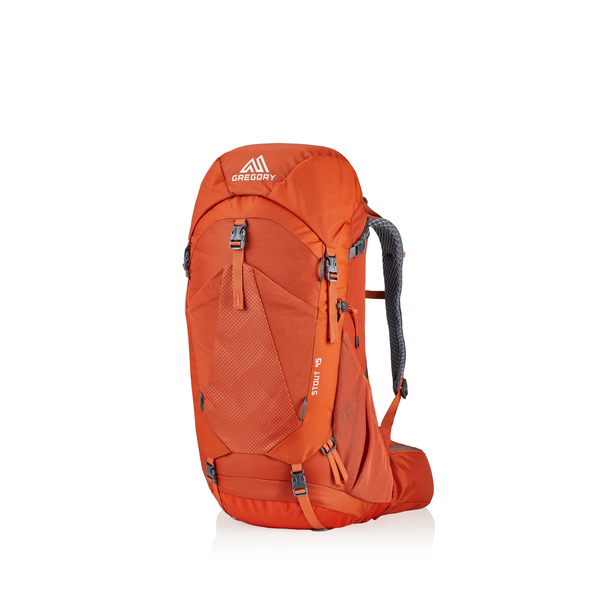Stout 45 in the color Spark Orange.