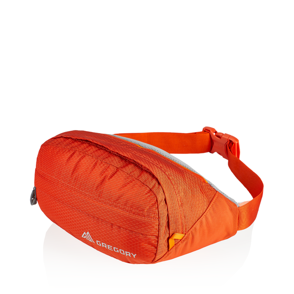 Nano Waistpack in the color Burnished Orange.