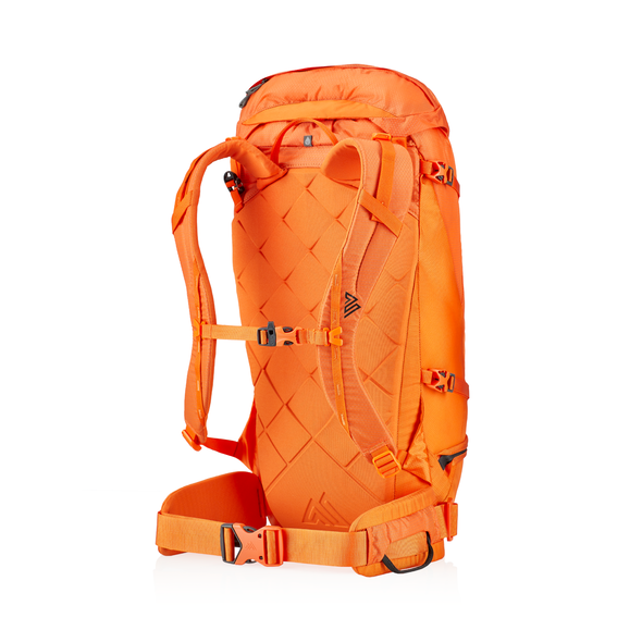 Alpinisto 28 LT in the color Zest Orange.