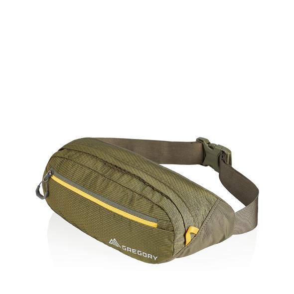 Nano Waistpack Mini in the color Fennel Green.