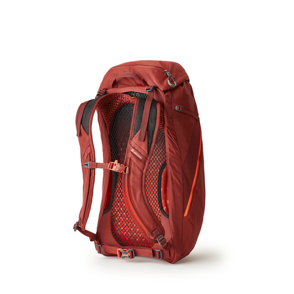 Arrio 24 in the color Brick Red.