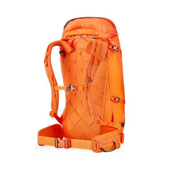 Alpinisto 38 LT in the color Zest Orange.