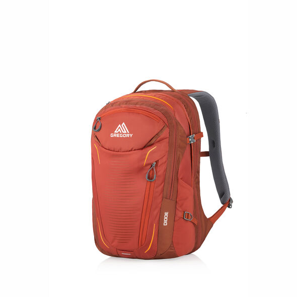 Diode Daypack in the color Ferrous Orange.