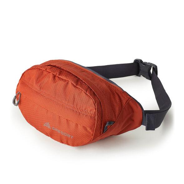Nano Waistpack in the color Spark Orange.