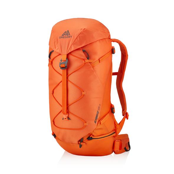 Alpinisto 28 LT in the color Zest Orange.