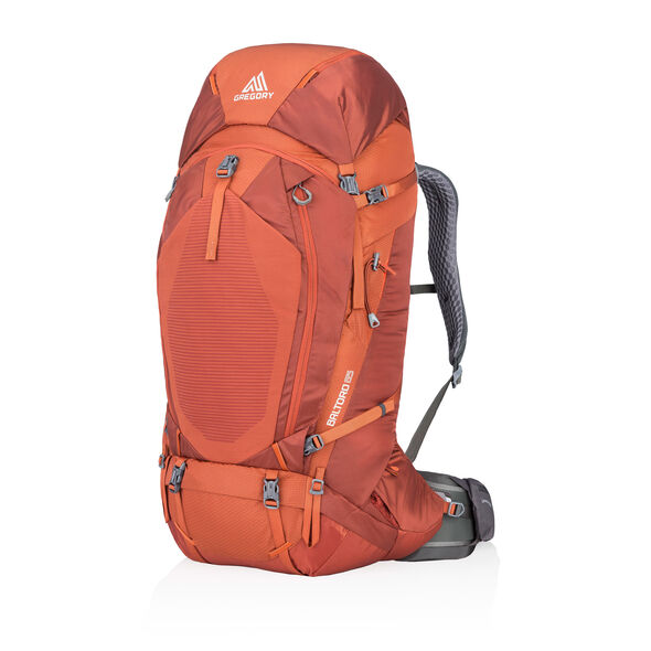 Baltoro 65 in the color Ferrous Orange.