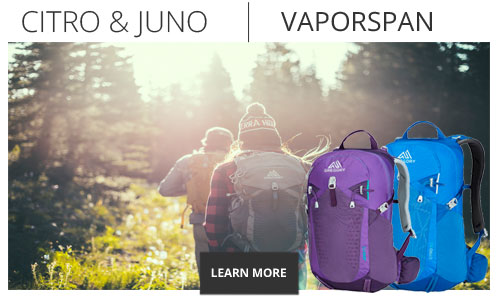 Gregory Packs Vaporspan Technology - Shop Now.