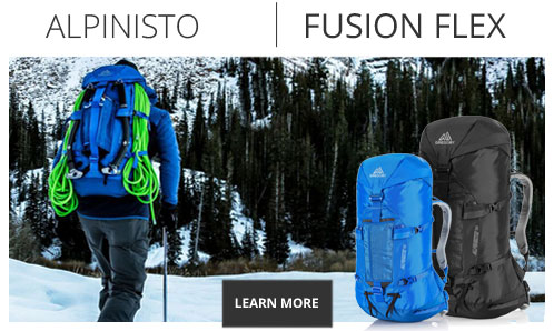 Gregory Packs Response Fusion Flex Technology - Shop Now