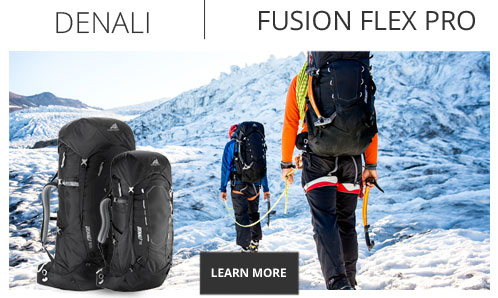 Gregory Packs Fusion Flex Pro Technology - Shop Now.